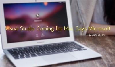 Visual Studio for MAC - Sunil Jagani